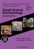 Blackwell's Five-Minute Veterinary Consult Clinical Companion: Small Animal Dermatology with CD, 2nd